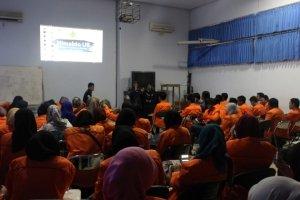 Suasana sharing program unggulan di Universitas Brawijaya Malang