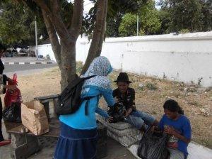 Kegiatan Baksos di Alun-alun Utara Yogyakarta