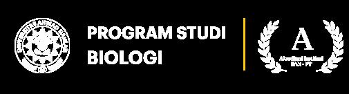 Program Studi Biologi